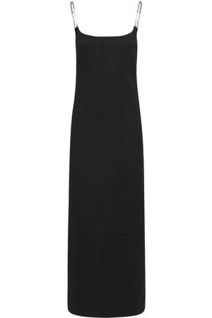 AMBUSH Women Midi Dresses - Chain Viscose Blend Midi Dress