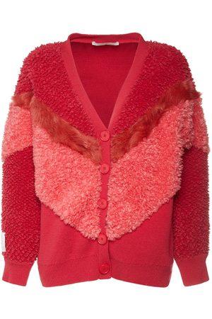 Stella McCartney Wool Knit Zip-up Cardigan