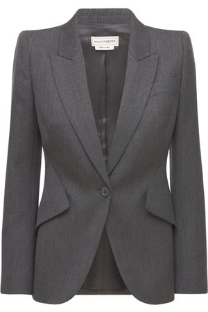 Alexander McQueen Cavalry Wool Twill Jacket