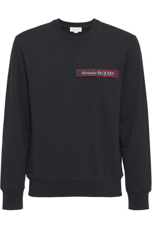 Alexander McQueen Logo Cotton Sweatshirt