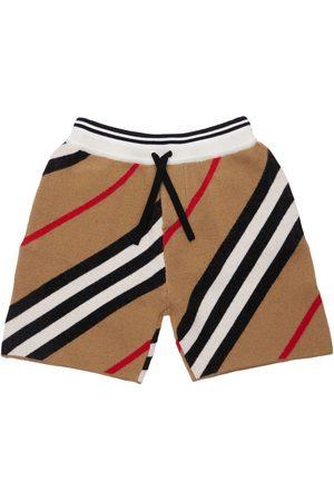 Burberry Merino Wool Blend Shorts