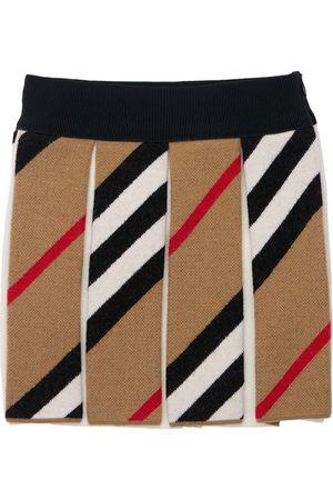Burberry Wool Blend Skirt
