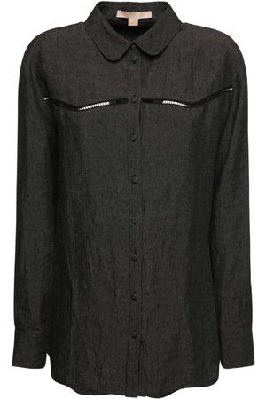 BROCK COLLECTION Women Shirts - Cotton & Linen Shirt