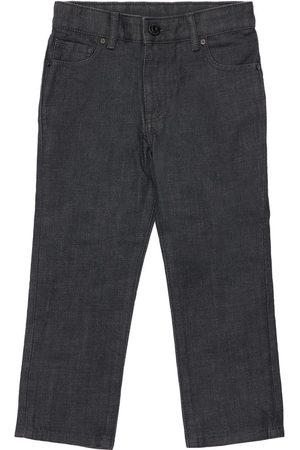 Burberry Boys Jeans - Cotton Blend Denim Jeans