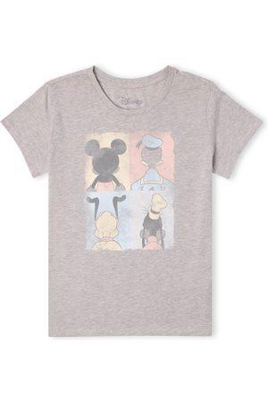 Disney Women T-shirts - Mickey Mouse Donald Duck Mickey Mouse Pluto Goofy Tiles Women's T-Shirt