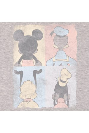 Disney T-shirts - Mickey Mouse Donald Duck Mickey Mouse Pluto Goofy Tiles T-Shirt
