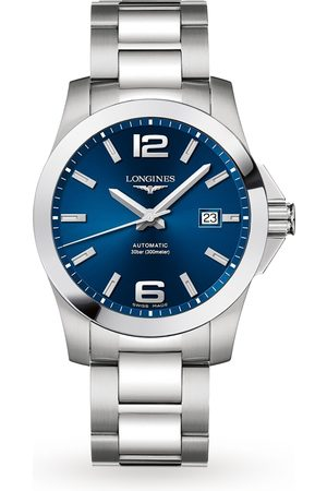 Longines Conquest 41mm Blue Dial Automatic Mens Watch