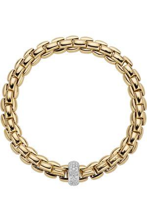 FOPE 18ct Yellow & White Gold Flex'it Bracelet