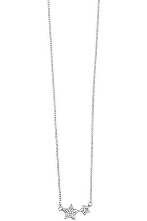 The Love Silver Collection Sterling Silver Star Necklace