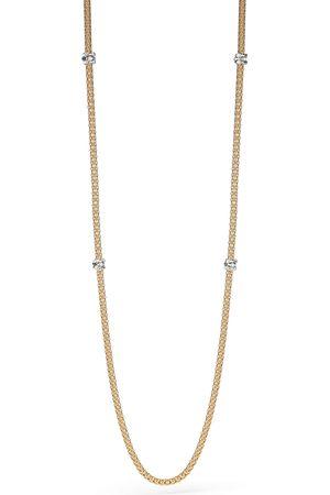 FOPE Flex'it Prima Yellow Gold Diamond Long Necklace