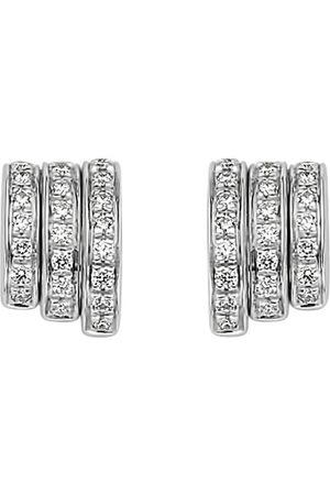 FOPE 18ct White Gold Flex'it Prima Earrings