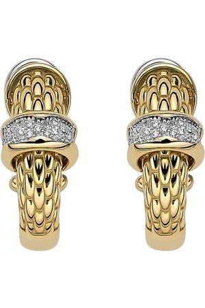 FOPE 18ct Yellow Gold Love Nest Diamond Earrings