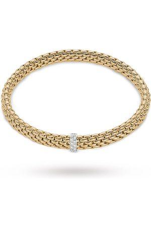 FOPE 18ct Yellow Gold Vendome Flex'It Diamond Bracelet