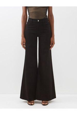 FRAME Women Wide Leg Trousers - Le Palazzo Wide-leg Jeans - Womens