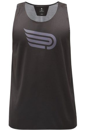 Pressio Arahi Recycled-fibre Mesh And Jersey Tank Top - Mens