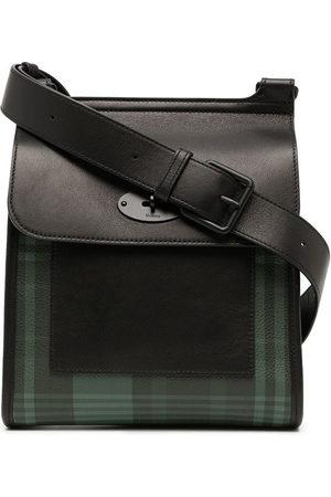 MULBERRY Antony tartan-checked shoulder bag