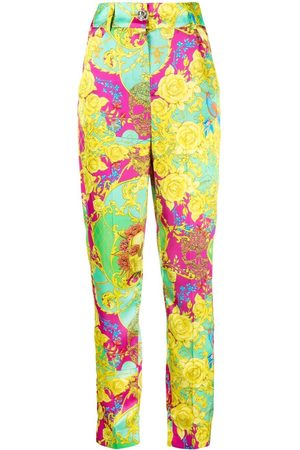 Philipp Plein Women Trousers - New Baroque print trousers