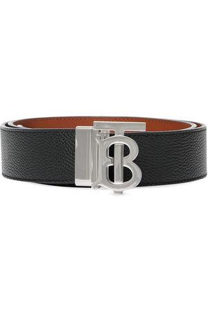 Burberry Men Belts - Monogram detail buckled belt