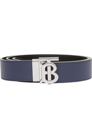 Burberry Men Belts - Reversible logo-buckle belt