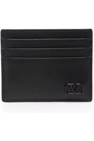 Valentino Garavani Men Purses & Wallets - Vlogo plaque cardholder