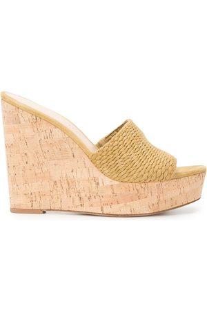 Veronica Beard Women Sandals - Dali wedge 120mm sandals