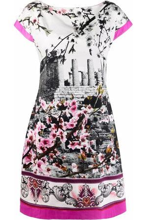 A.N.G.E.L.O. Vintage Cult 2000s photograph print short-sleeved dress