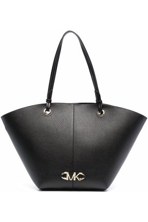 Michael Michael Kors Izzy logo-embellished grained leather tote bag
