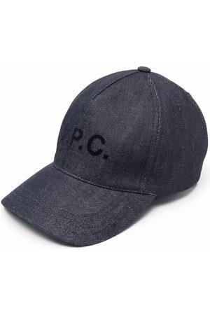 A.P.C. Men Hats - Logo-print cap