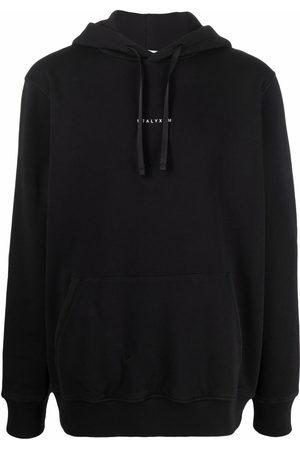 1017 ALYX 9SM Men Sweatshirts - Logo-print pullover hoodie