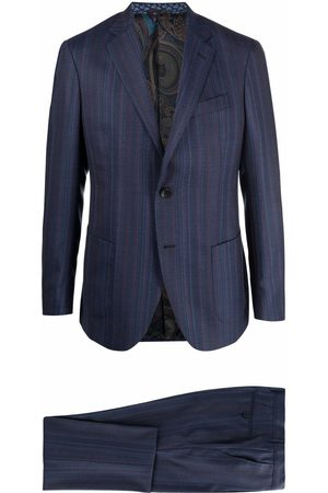 Etro Men Suits - Striped single-breasted suit