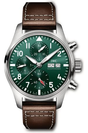 IWC SCHAFFHAUSEN Men Watches - Stainless Steel Pilot's Chronograph Watch 41mm