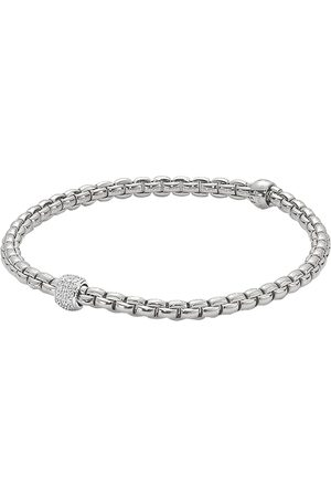 Fope Women Bracelets - Flex'it Eka Tiny Diamond Bracelet