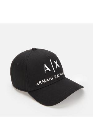 Armani Men's AX Logo Cap