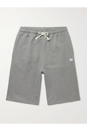 Acne Studios Logo-Appliquéd Cotton-Jersey Shorts
