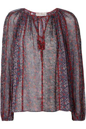 Ulla Johnson Deetra floral silk blouse