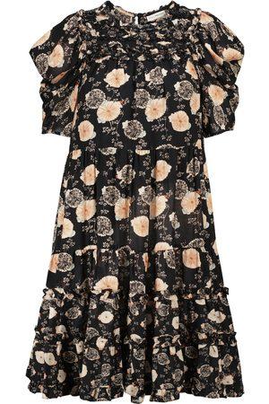 Ulla Johnson Cassian floral cotton-blend minidress