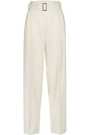 Max Mara Carabo high-rise tapered stretch-wool pants