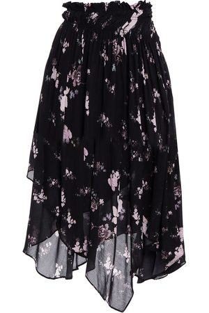 PREEN LINE Woman Sumin Asymmetric Floral-print Crepe Skirt Size L