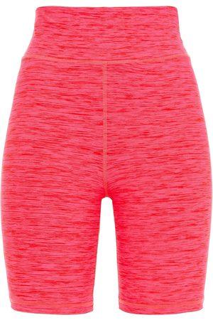 THE UPSIDE Women Sports Shorts - Woman Saanvi Dance Mélange Stretch Shorts Fuchsia Size L