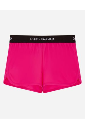Dolce & Gabbana Trousers and Skirts - Swim shorts with branded elastic female 2