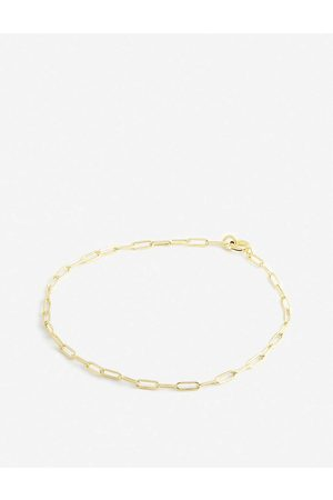 Hermina Athens Vintage yellow -plated sterling-silver bracelet