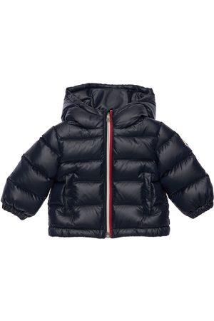 Moncler New Aubert Hooded Nylon Down Jacket