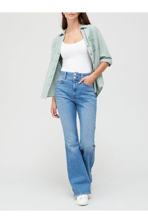Very Women Bootcut - The Shaping Flare Jean - Bleach Wash