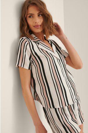 Trendyol Women Pyjamas - Striped Pyjamas Set - Multicolor