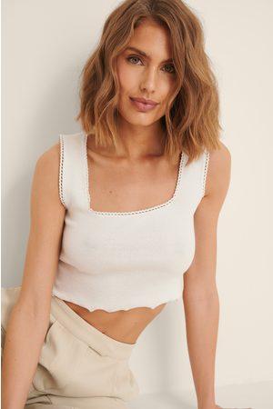 Trendyol Women Crop Tops - Cropped Top - White