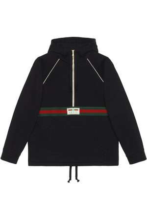 Gucci Men Sweatshirts - Cotton jersey sweatshirt with Web