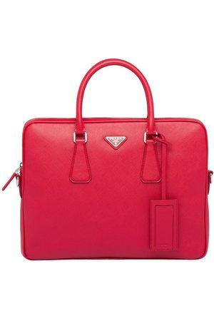 Prada Men Laptop & Business Bags - Saffiano leather briefcase