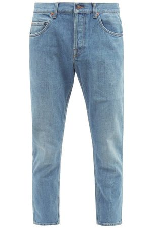 Gucci Straight-leg Cropped Jeans - Mens