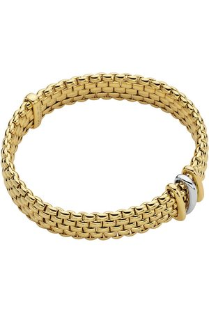 FOPE Exclusive 18ct Yellow & White Gold Panorama Bracelet