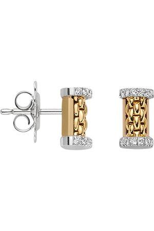 FOPE Essentials 18ct Yellow Gold Diamond Stud Earrings
